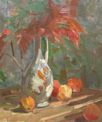 Ксения Хидаева. Осенний натюрморт