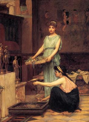 John William Waterhouse. Goddess of the hearth