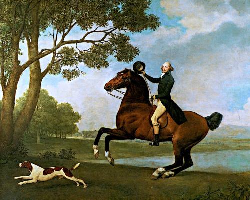 George Stubbs. Baron De Robek