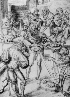 Lucas Cranach the Elder. The Judgement Of Solomon