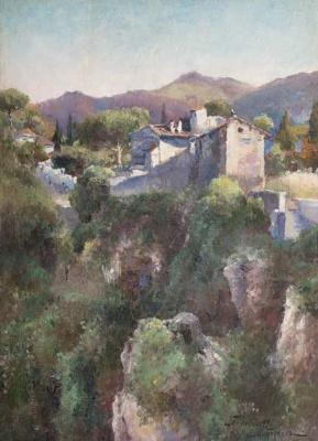 Mikhail Andreevich Bercos. Italian landscape