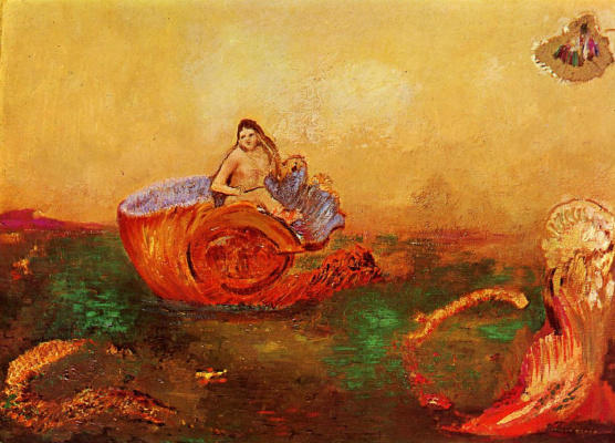 Odilon Redon. The Birth Of Venus