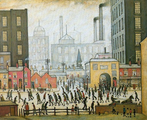 Lawrence Stephen Lowry. Mill