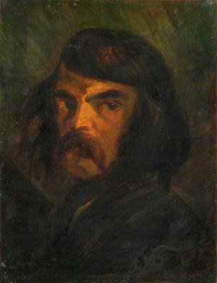 Неизвестные Французские. Портрет мужчины