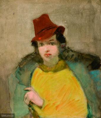 Nikolai Andreevich Tyrsa. Female portrait