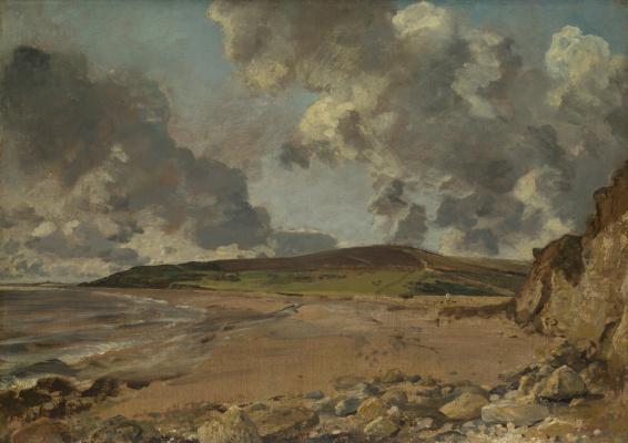 John Constable. Weymouth Bay: Bowleaze Cove and Jordon Hill