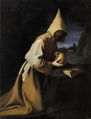 Francisco de Zurbaran. St. Francis Of Assisi