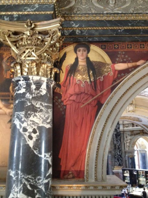 Густав Климт. Древняя Греция  (Роспись для музея истории искусств, Вена)