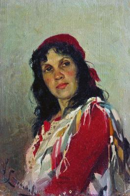 Алексей Степанович Степанов. Портрет С.П.Кувшинниковой