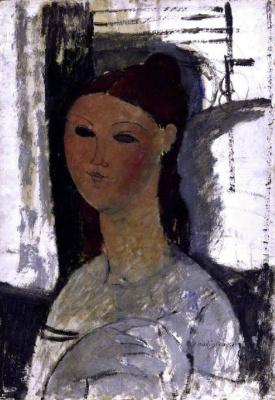 Amedeo Modigliani. Portrait of a girl