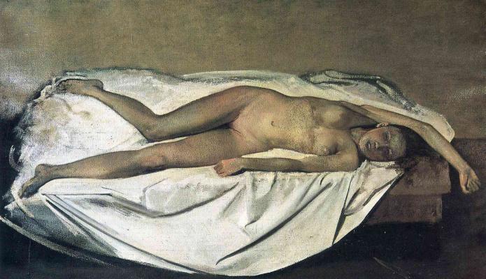 Balthus (Balthasar Klossovsky de Rola). Victim