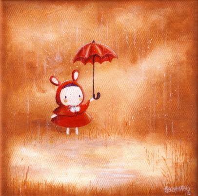 Реучмакер. Красный зонт