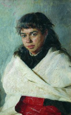 Nikolay Aleksandrovich Yaroshenko. Portrait Poliksevny Sergeevna Solovieva. 1885