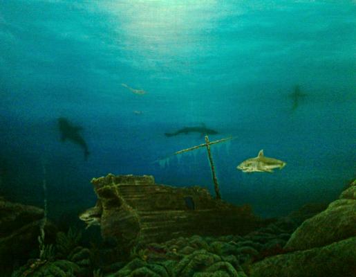 Gennady Guryev. Meeting underwater or Sansara