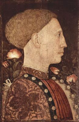 Антонио Пизанелло. Портрет Лионелло д`Эсте