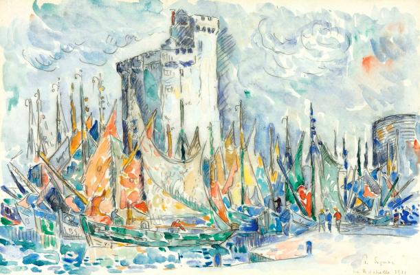 Paul Signac France 1863 - 1935. La Rochelle. 1911