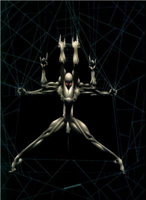 Джерри Боден. Альбинос-паук