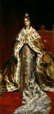 Konstantin Makovsky. Portrait of Empress Alexandra Feodorovna