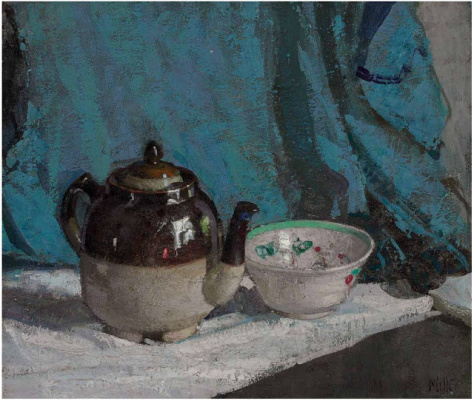 Ричард Эдвард Миллер. Заварной чайник и чашка.