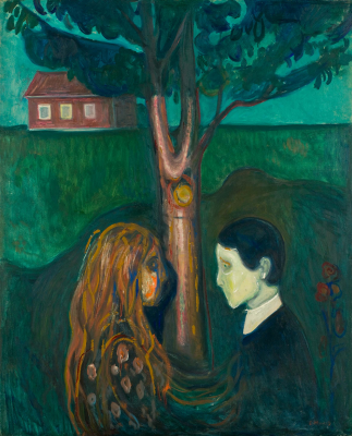 Edward Munch. Eye to eye