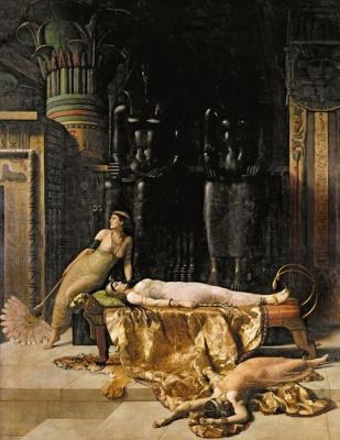 John Collier. Cleopatra