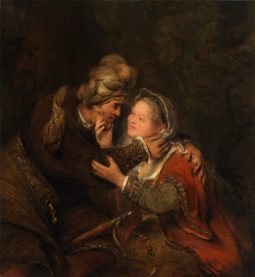 Art Johans de Gelder. Judah and Tamar