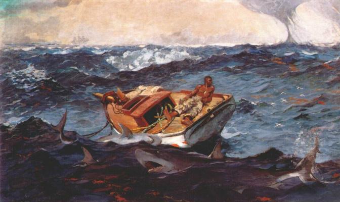 Winslow Homer. The Gulf stream