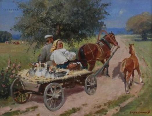 Vitaliy Alekseevich Baranenko. To the fair