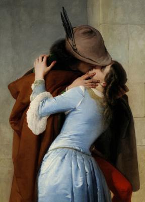Francesco Ayets. Kiss. Fragment