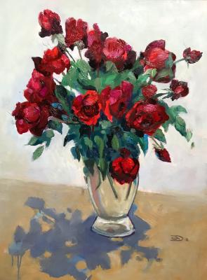 Александр Дмитриевич Свистунов. Розы