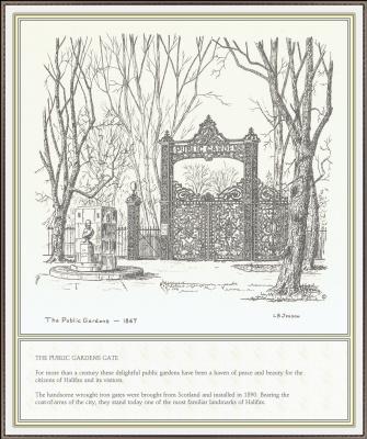 Дженсон. Ворота общественного парка