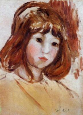 Berthe Morisot. Portrait of a little girl