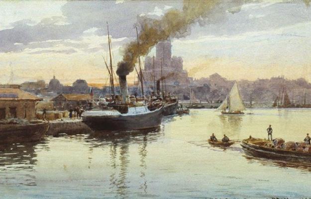 Альберт Николаевич Бенуа. Порт
