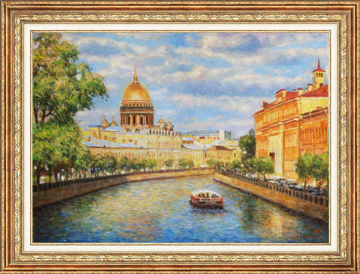 Igor Razzhivin. Sunny Petersburg