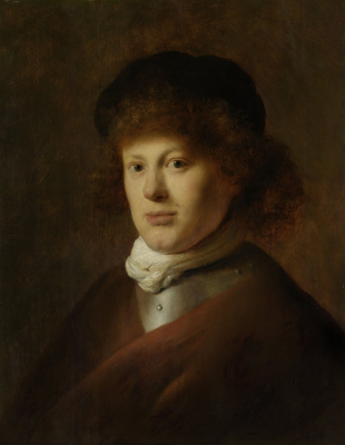 Jan Livens. Portrait of Rembrandt van Rijn