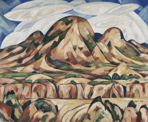 Marsden Hartley. The Landscape Of New Mexico