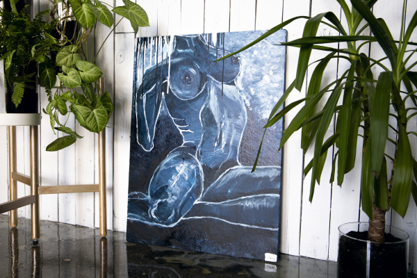 "Natalia Nikolaevna Leontyeva. Painting ""Beauty of the body"""