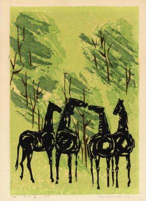 Тамами Шима. Шепот лошадей
