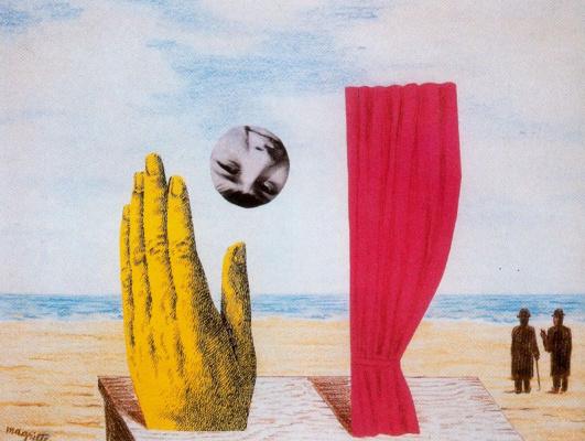 René Magritte. Untitled