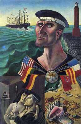 Otto Dix. Goodbye, Hamburg