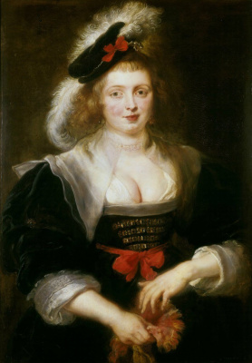 Peter Paul Rubens. Portrait of Elena Forman with gloves