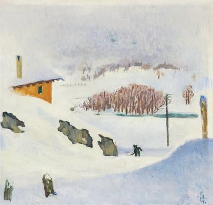 Giovanni Giacometti. Winter
