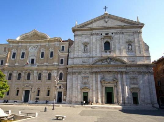 Giacomo della Porta. Santa Maria in Valicella (Chiesa Nuova)