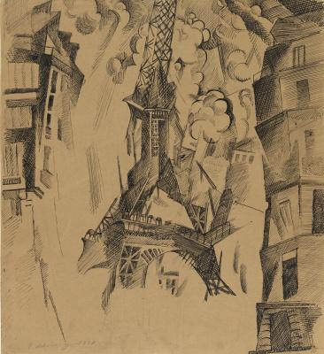 Robert Delaunay. The Tower