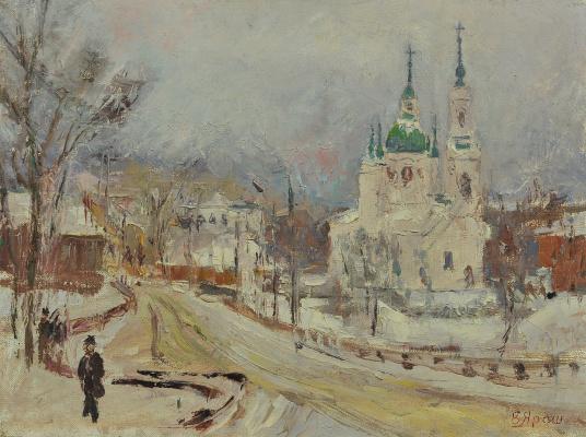 Валерий Иванович Ярош. Snowy winter