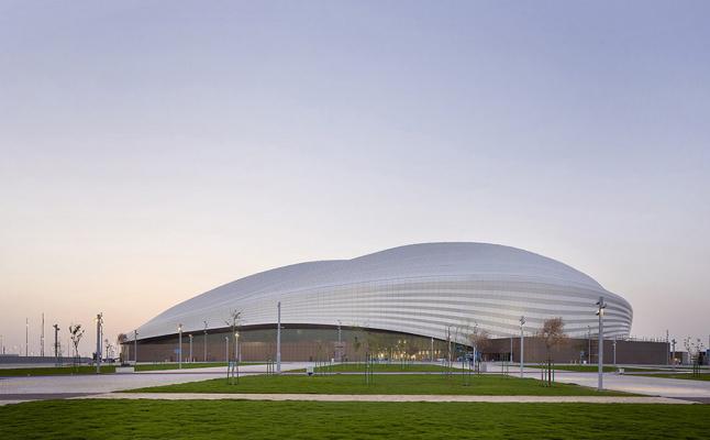 Zaha Hadid. Al-Janub Stadium