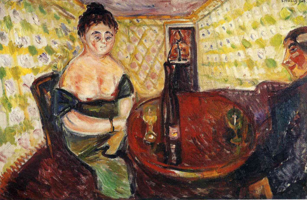 Edvard Munch. Public house. For cute Madeleine