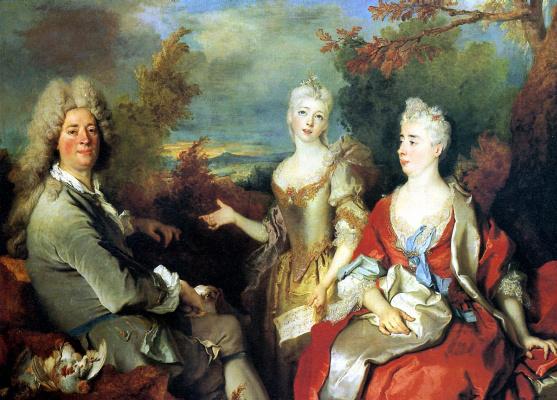 Никола де Ларжильер. Семейный портрет