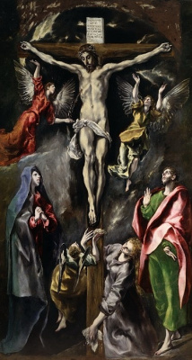 Domenico Theotokopoulos (El Greco). The crucifixion