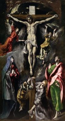 Domenico Theotokopoulos (El Greco). The crucifixion